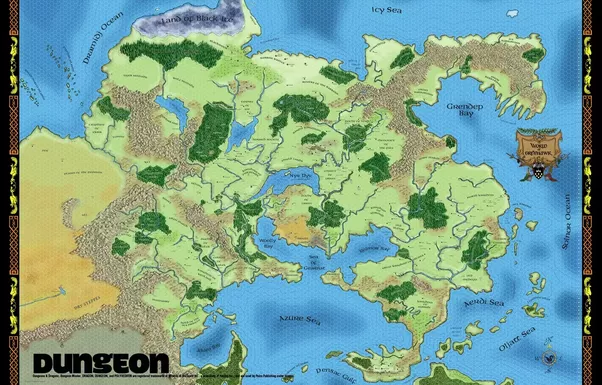 Where can I find a Dungeons and Dragons world map? - Quora