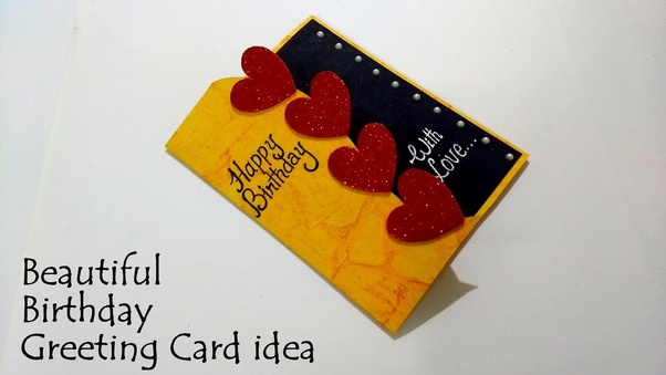 Surprising Where Can I Get The Ideas For Handmade Cards For Boyfriend Quora Personalised Birthday Cards Paralily Jamesorg