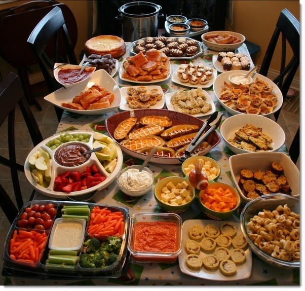 Party Food Spread For Kids: What Does The Phrase 'please Help Yourself' Mean?