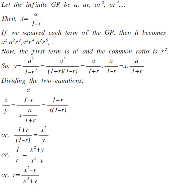 Geometric Sequences and Sums | Example: Sum the first 4 terms of