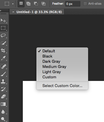 how to change the background color in photoshop quora
