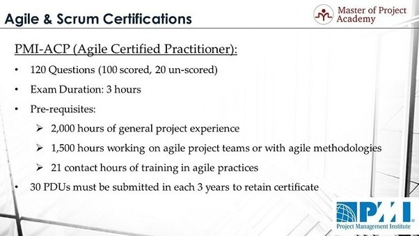 Which Project Management certification should I try between ...