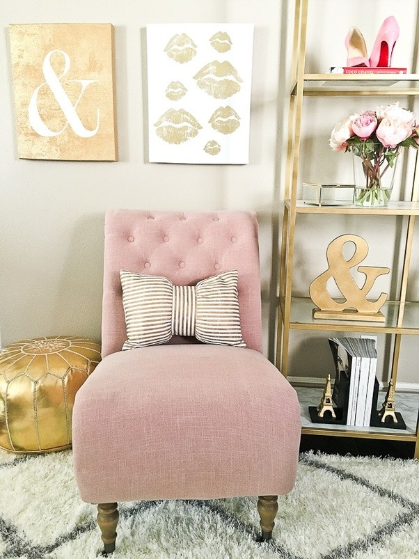 What kind of bedroom themes go with pink, white and gold? - Quora