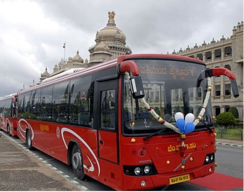 Why do we find more Volvo buses in Karnataka than other