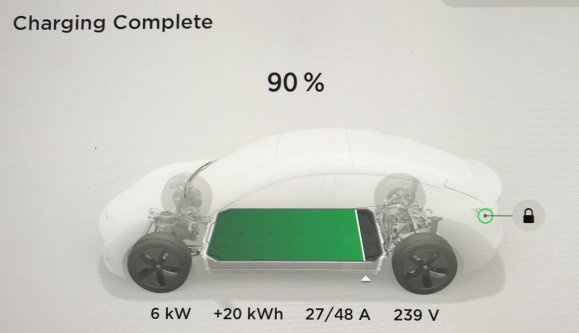 Do Tesla cars have a way to calculate how much electricity ...