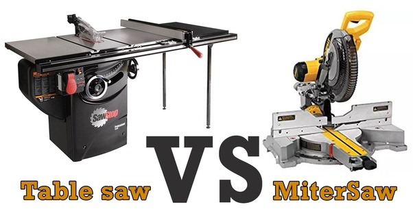 When do you use a miter saw versus a table saw quora the reason why is simple you will better understand what products suits your needs if you see its pros and cons from up close greentooth Image collections