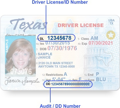 What Is An Audit Number On A Texas Driver S License Quora