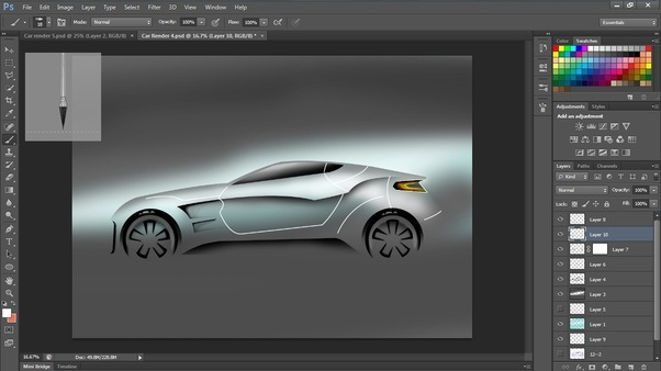 How To Use Photoshop To Create Car Renders