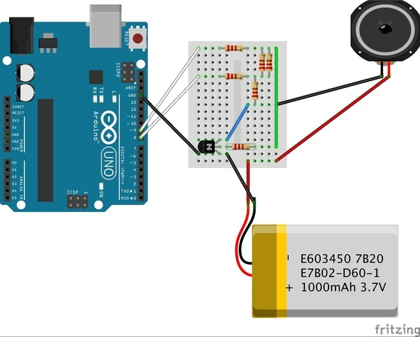 Can we play songs from arduino without using an sd card