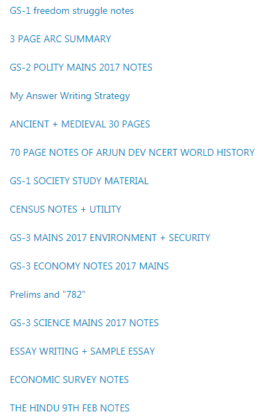 Can anyone share their Evernote UPSC notes? - Quora