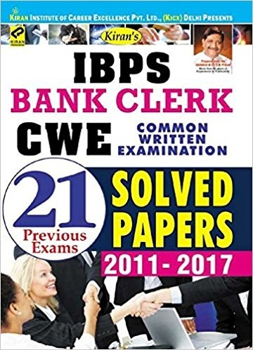 What is good preparation material for the ibps bank po exam quora then go for this book available here kirans ibps bank clerk cwe 2017 common written examination 21 previous exams solved papers 2011 2017 english fandeluxe Image collections