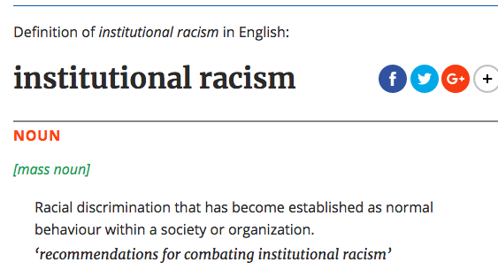 What Are Some Examples Of Institutional Racism In The United States