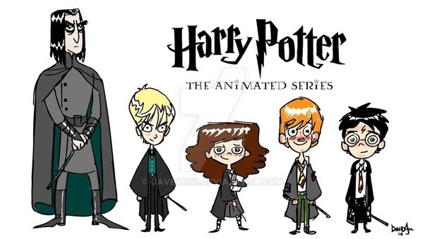 why there are no animated series on harry potter quora