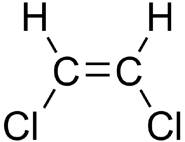 how to determine the lewis dot structure for c2h2cl2