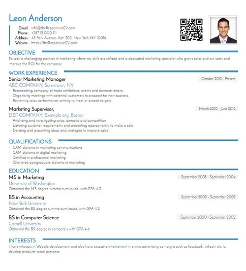 Why isn't LinkedIn the perfect CV? - Quora