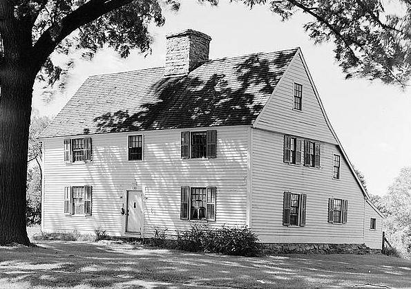 What was a common layout of early US colonial settlers homes Quora