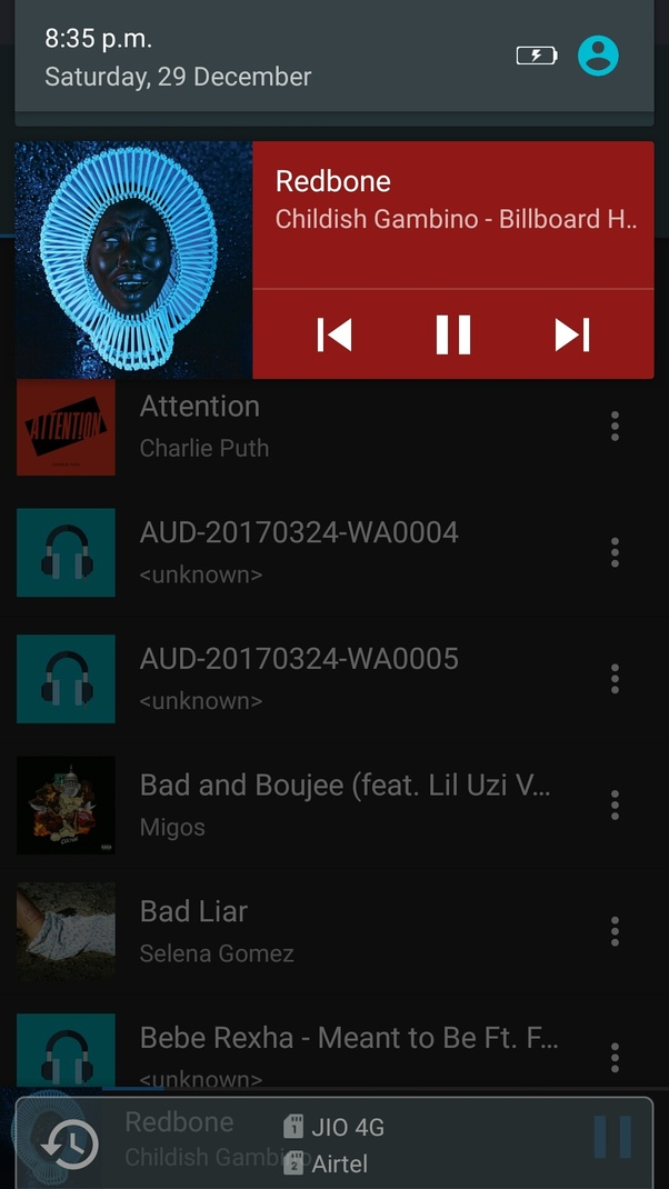 How do l change the default music player in Android