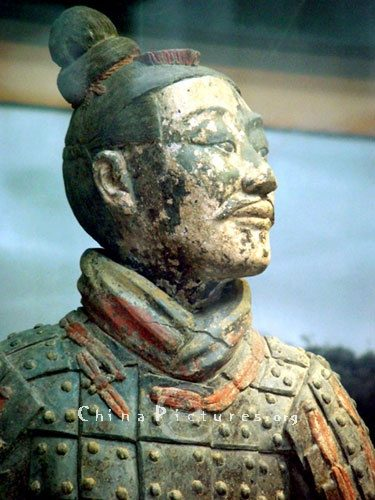 The Bright Color Of Terracotta Army Disappeared After These Statues Exposed With Todays Air It Turned Gray Chinese Authorities Then Stopped