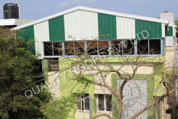 Which one is economical for terrace roofing, RCC slab or