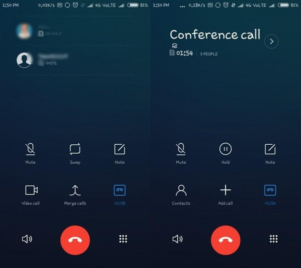 Can we do a conference call in a Mi Redmi Note 5? - Quora