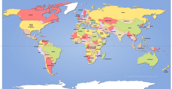 Why is the equator line not in the middle of the map of the ...