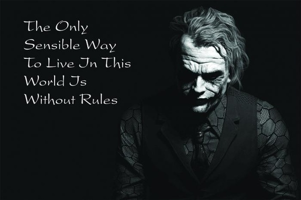 what would life be like without rules