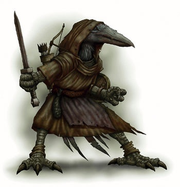 In D&D (whichever version you prefer) Which race matches
