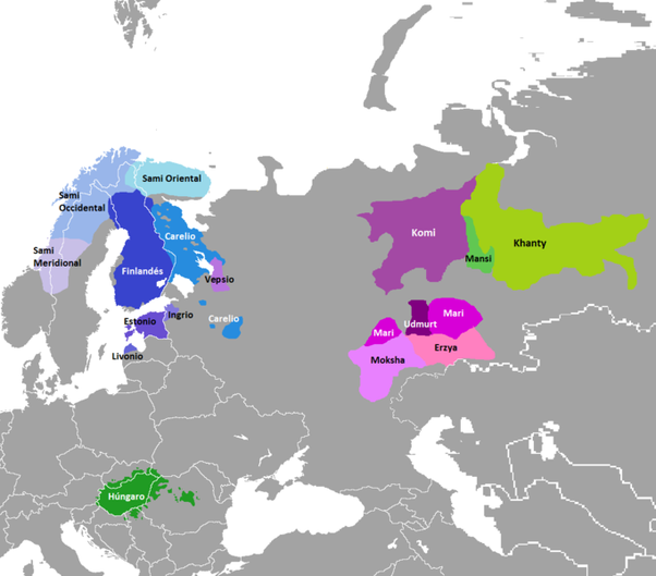 Why is finnish spoken in finland quora other areas in fennoscandia were inhabited by people speaking uralic languages sami and baltic finnic tribes map below publicscrutiny Gallery