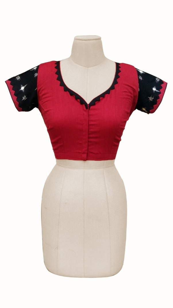 What Is The Methodology Of Doing Embroidery On Blouse Pieces Quora