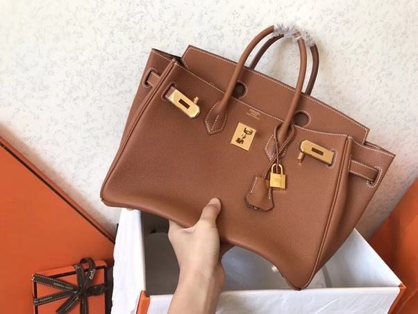 d6778f2c6100 This Hermes Birkin Togo replica is made from very good quality sturdy  leather that allows the bag to stand firm on its own. The functionality of the  bag is ...