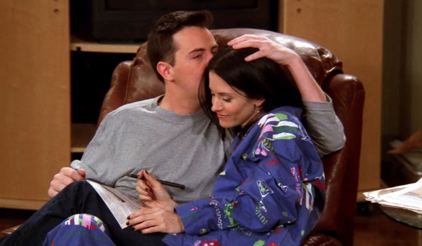 when do chandler and monica