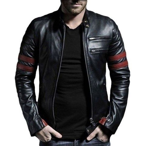 Brand new leather jacket. 100% genuine black leather jacket N4cAnBe