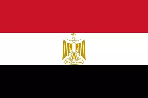 Why Does The Flag Of Egypt Has An Eagle On It Quora