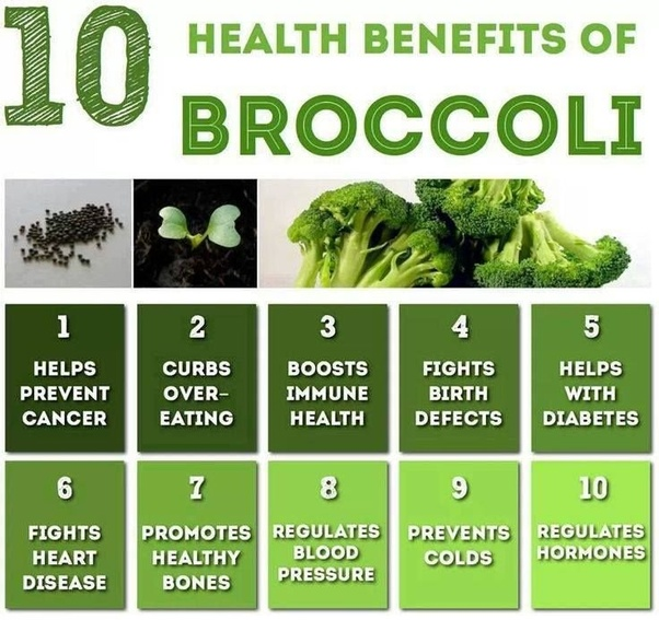 What Are Advantages Of Broccoli Quora