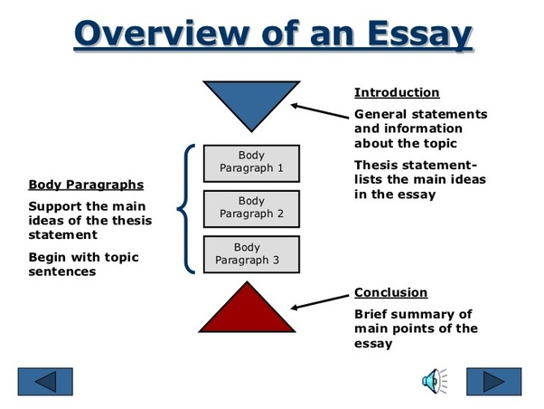 Does a compare and contrast essay have a basic structure
