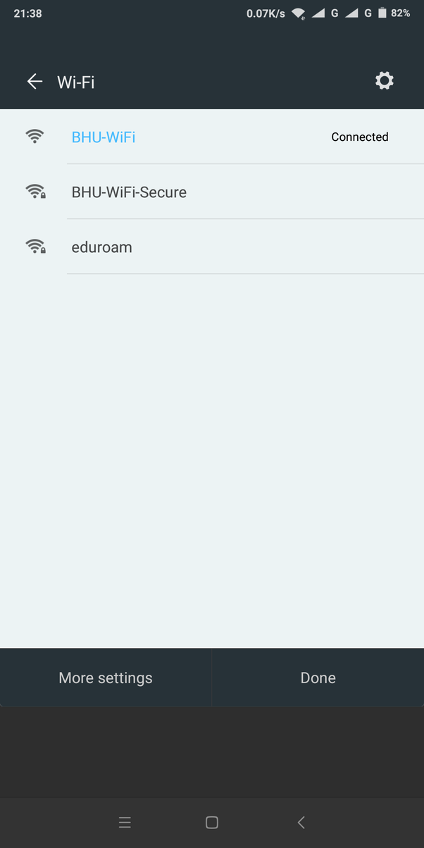 How to use the internet in BHU on my smartphone if I have my