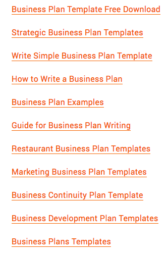 Where can i find a good business plan template for my new startup also you can find a list of business plan templates here accmission Gallery