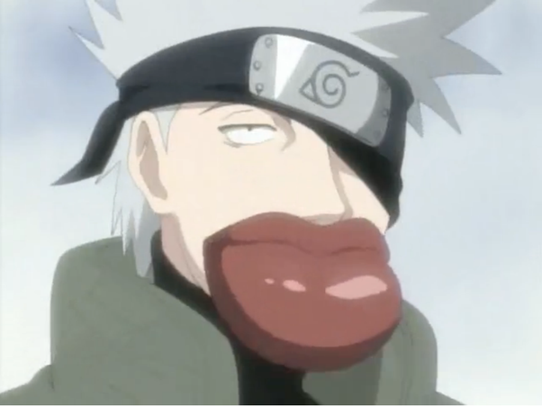 My Favorite Funny Moment Would Be When Sasuke Naruto And Sakura Are Trying To Figure Out What Kakashi Looks Like Without His Mask