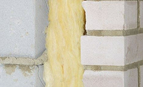 Does a cavity wall one side rcc and one side brickwork for Blown mineral wool cavity insulation