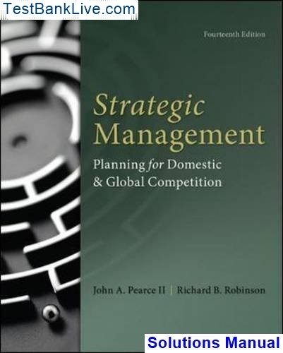 Where can I find Strategic Management Planning for Domestic