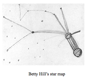 Betty Hill Star Map Has there ever been an explanation for the Betty and Barney Hill