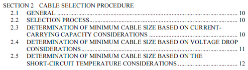 Wire how do i calculate a cable size based on the load of the theres a lot of useful information in it and you can get snapshot of it for free go to page 74 and so on here httpolexeservice keyboard keysfo Gallery