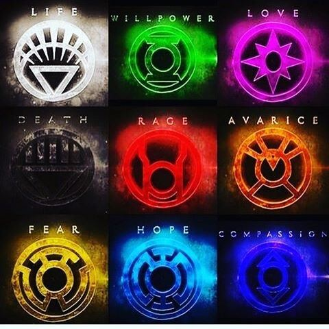 What Are All The Lantern Rings In Dc What Do They Do And Do They