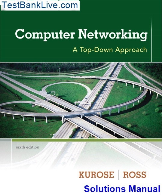Computer networking and the internet 5th edition download.