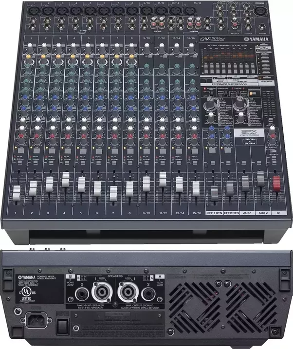 What S The Difference Between A Mixing Console And