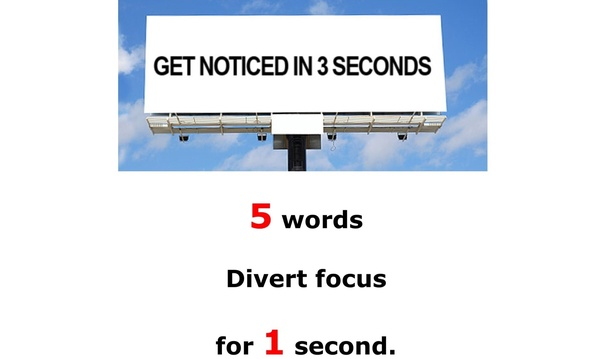 words to get attention