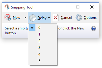 how to take a snippet on windows 10