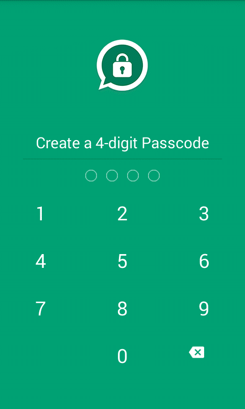 How to to set Password Lock Whatsapp on Android? Any