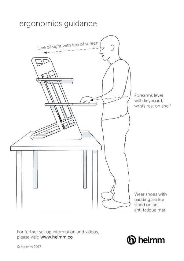 What is the ideal ergonomical computer workstation and ...