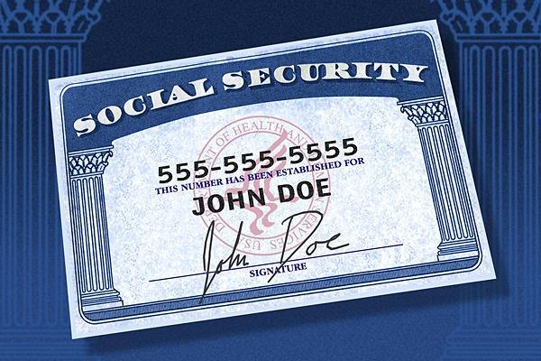 Image result for social Security Card